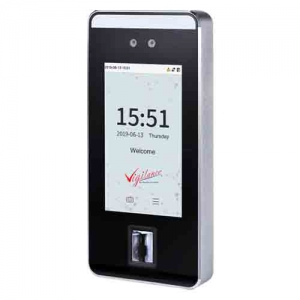 visible light face & fingerprint reader